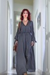 Redhead Illusion - Fashion Blog by Menia - A sense of relaxation - Lulus Maxi Dress-01