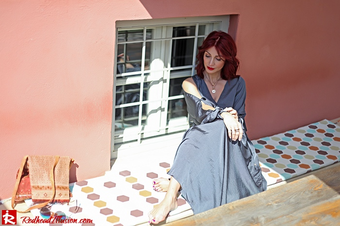 Redhead Illusion - Fashion Blog by Menia - A sense of relaxation - Lulus Maxi Dress-08