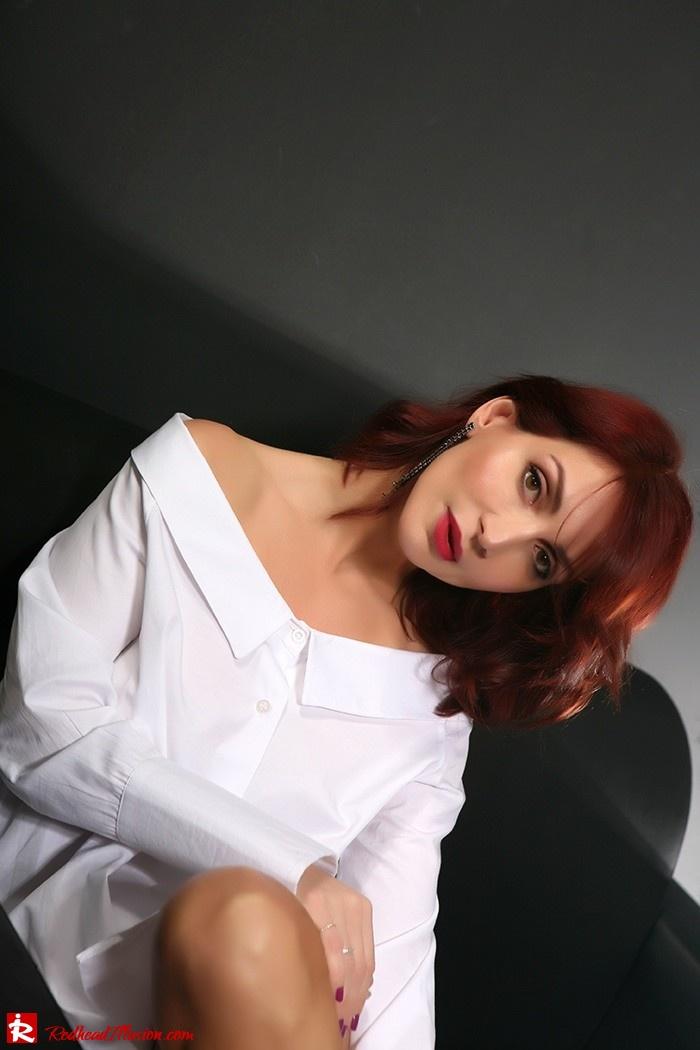 Redhead Illusion - Fashion Blog by Menia - Only one shirt - White Shirt-03