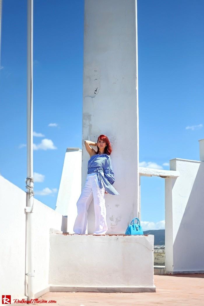Redhead Illusion - Fashion Blog by Menia - Deconstruction - Shein Shirt-04