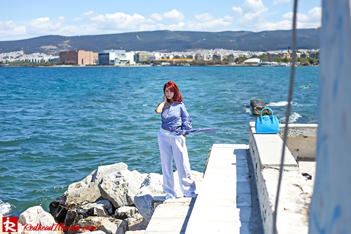 Redhead Illusion - Fashion Blog by Menia - Deconstruction - Shein Shirt-10