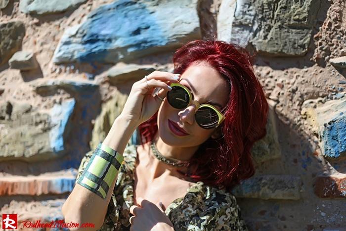 Redhead Illusion - Fashion Blog by Menia - One for all - Denny Rose Dress-10