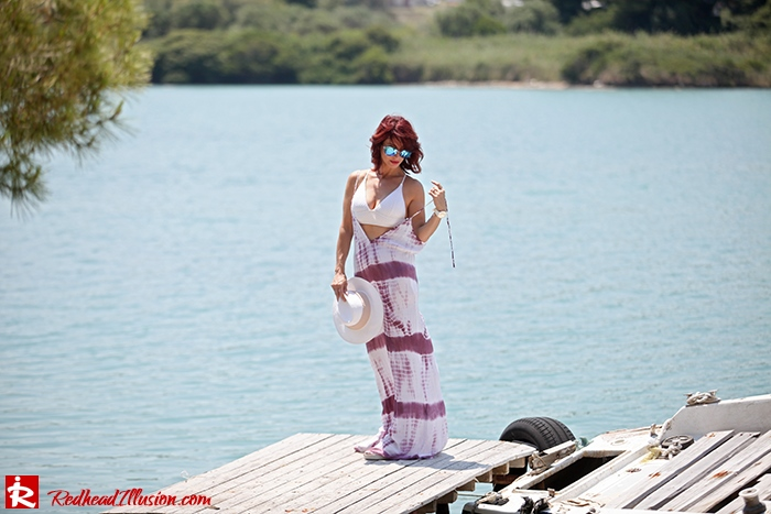 Redhead Illusion - Fashion Blog by Menia - Not only for the beach - Asos Dress-02