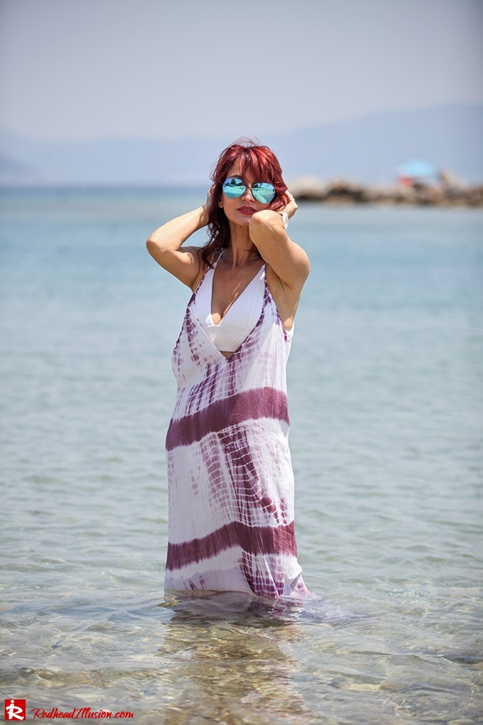 Redhead Illusion - Fashion Blog by Menia - Lately - Aug-04 - Not only for the beach - Asos Dress