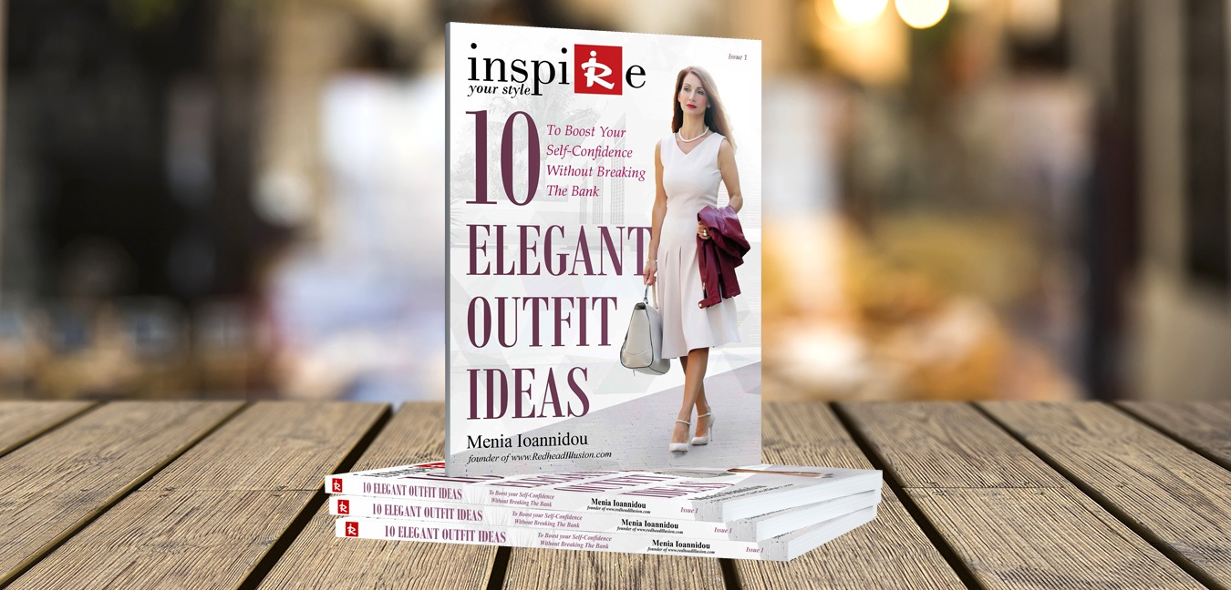 RHI Fashion Books - 10 Elegant Outfit Ideas on table