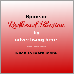 Redhead Illusion Ad Block 250x250