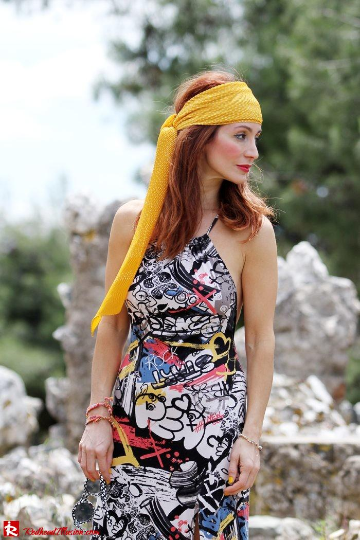 Redhead Illusion - Hippie chic-Denny Rose Dress-04