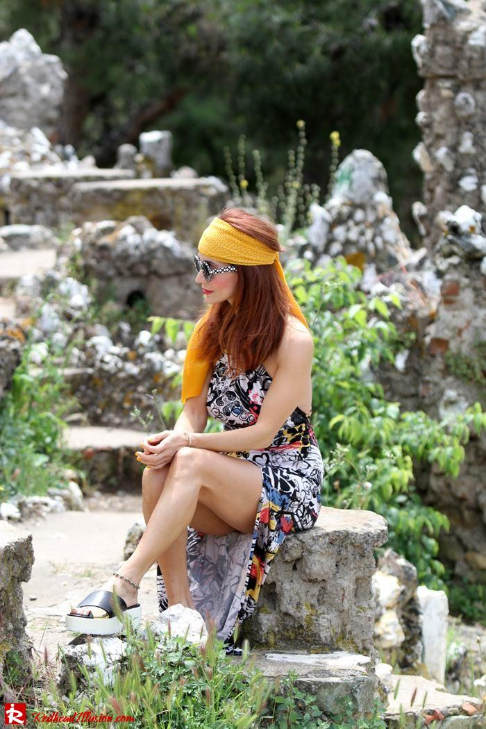 Redhead Illusion - Hippie chic-Denny Rose Dress-05