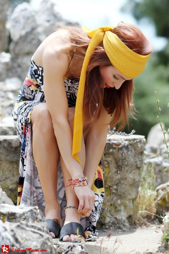 Redhead Illusion - Hippie chic-Denny Rose Dress-10