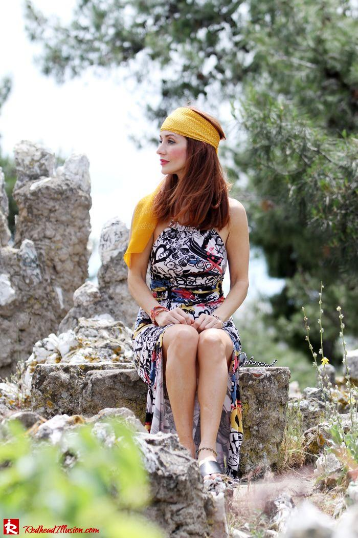 Redhead Illusion - Hippie chic-Denny Rose Dress-11