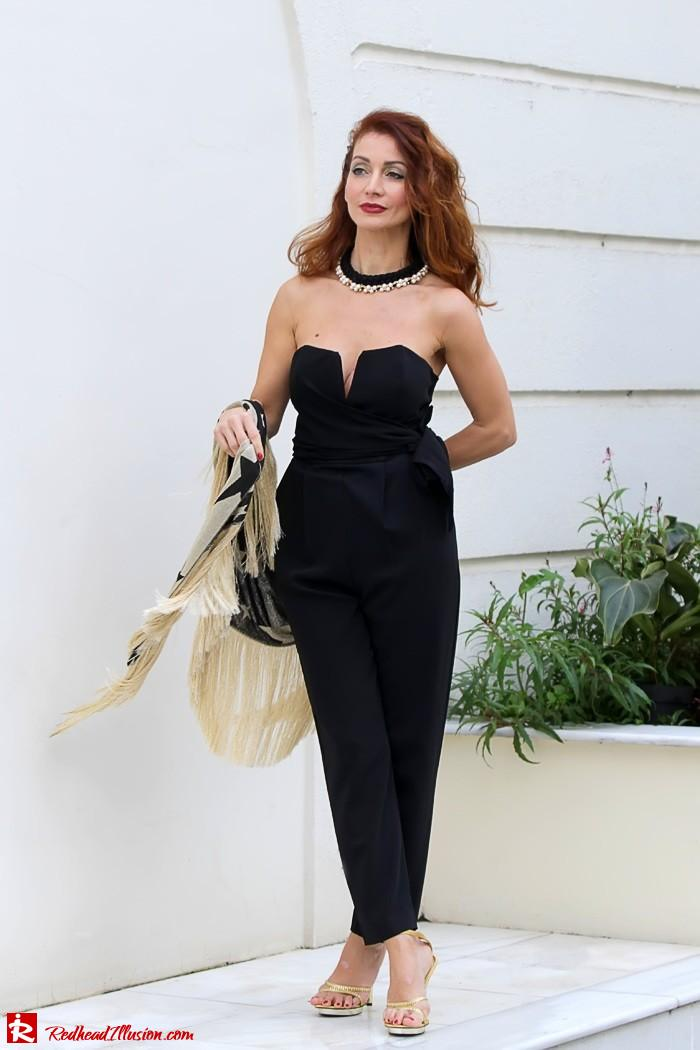 Redhead Illusion - My obsession goes on - Denny Rose Jumpsuit-02