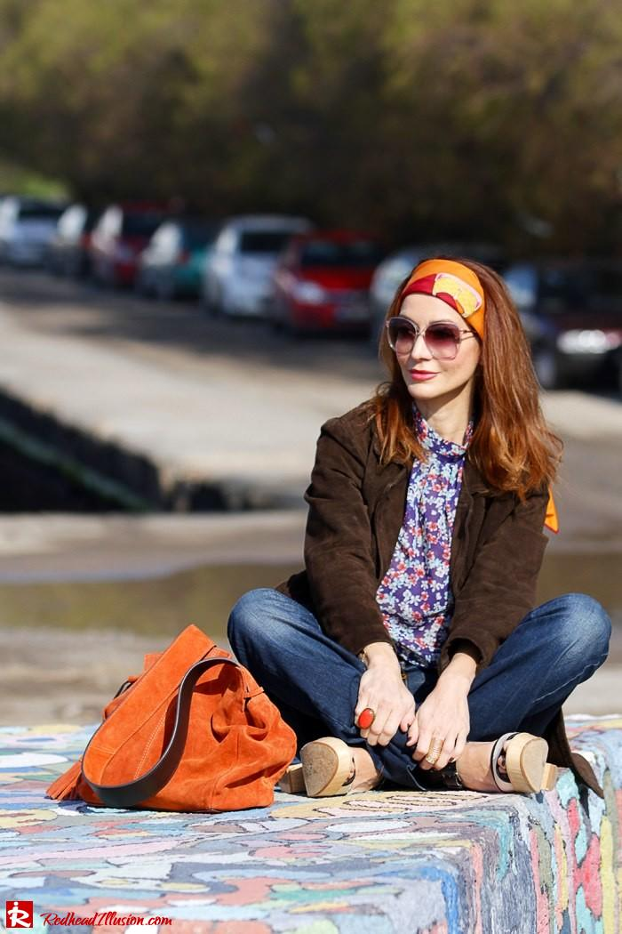 Redhead Illusion - Fashion blog by Menia - Flared Jeans - Denny Rose Jeans-04