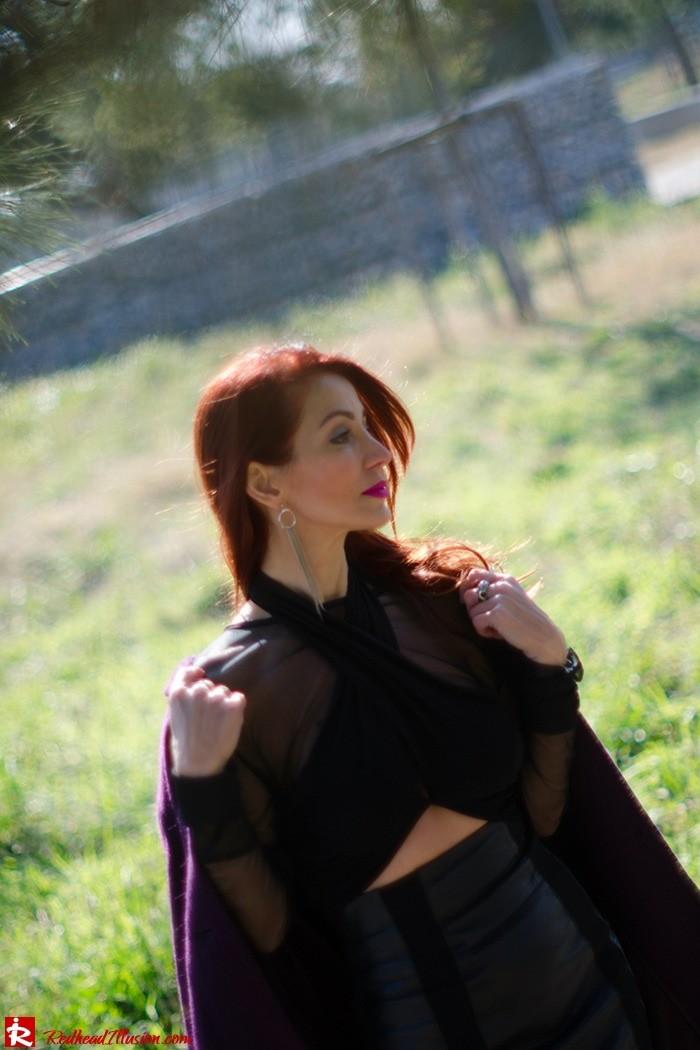 Redhead Illusion - Fashion Blog by Menia - A cropped... day - Yoins Top - Zini Skirt - Boss Coat-09