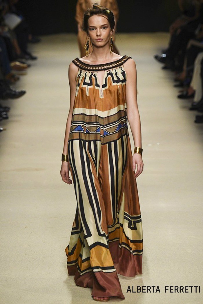 Redhead Illusion - Fashion Blog - Fashion Show - Alberta Ferretti - Spring-Summer 2016-02