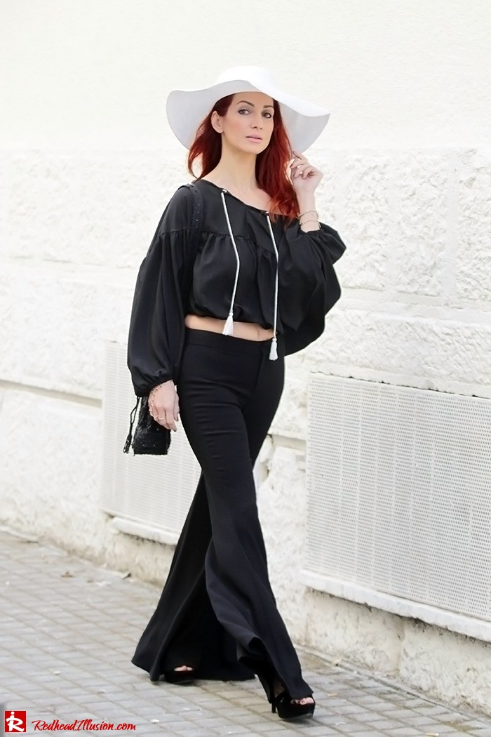 Redhead Illusion - Fashion Blog by Menia - Hippie Shake - 70's Style - Bell Trousers - Floppy Hat-08