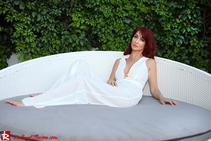 Redhead Illusion - Fashion Blog by Menia - Night Call - Missguided Jumpsuit-09