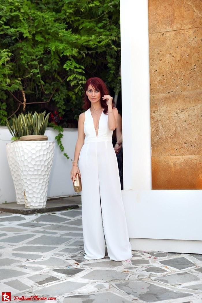 Redhead Illusion - Fashion Blog by Menia - Night Call - Missguided Jumpsuit-12