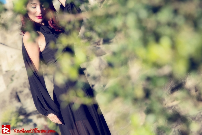 Redhead Illusion - Fashion Blog by Menia - Suspended in Space - Toi-Moi - Maxi Dress-05
