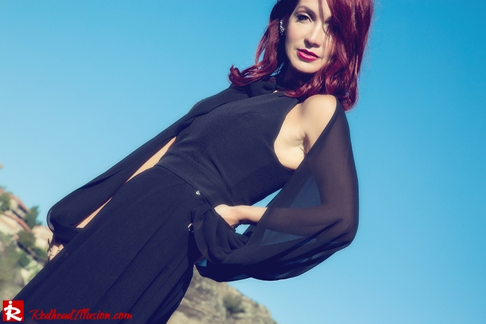 Redhead Illusion - Fashion Blog by Menia - Suspended in Space - Toi-Moi - Maxi Dress-14