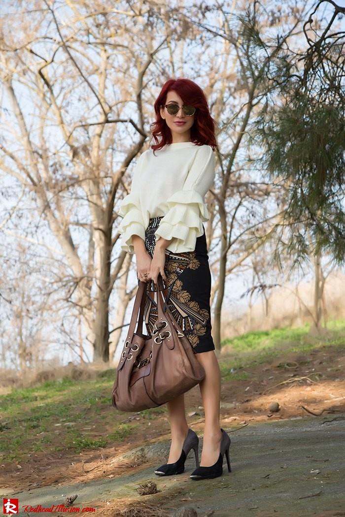 Redhead Illusion - Fashion Blog by Menia - Expressing - Shein Blouse - Jimmy Choo Bag-04