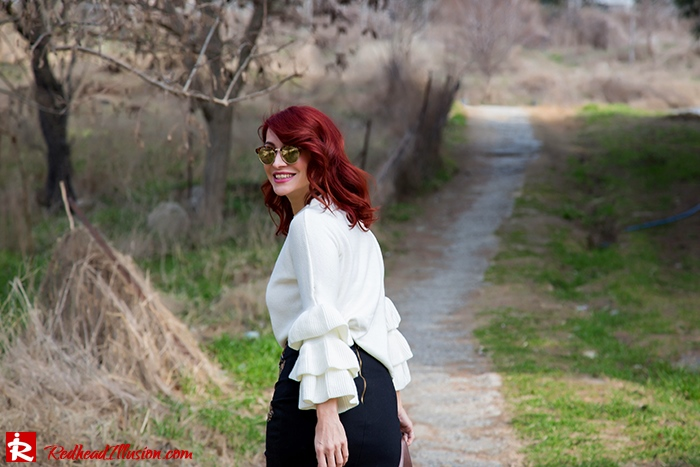 Redhead Illusion - Fashion Blog by Menia - Expressing - Shein Blouse - Jimmy Choo Bag-08