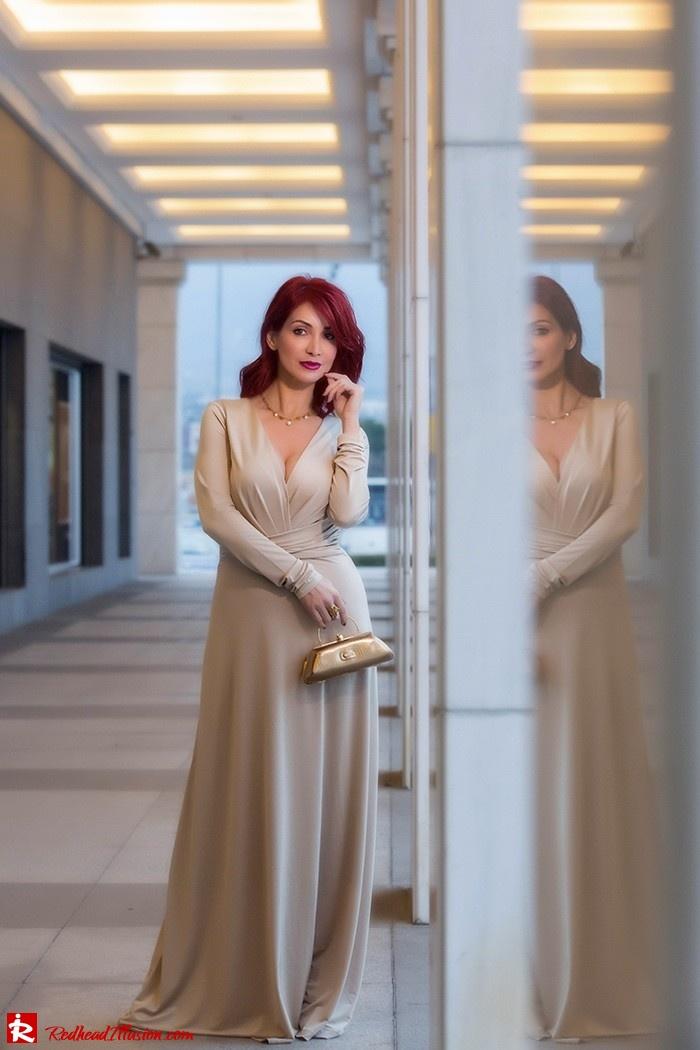 Redhead Illusion - Fashion Blog by Menia - Mind Trap - Lulus Maxi - Dress - Suzy Smith Clutch-08