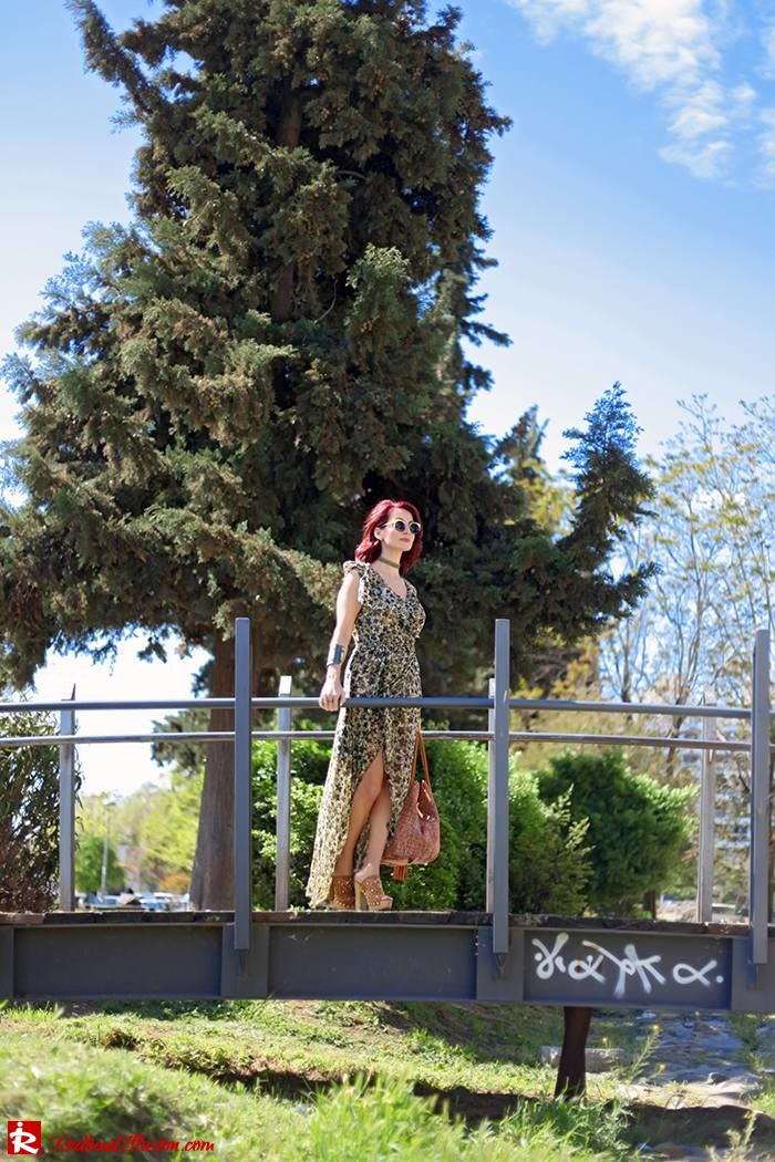 Redhead Illusion - Fashion Blog by Menia - One for all - Denny Rose Dress-03