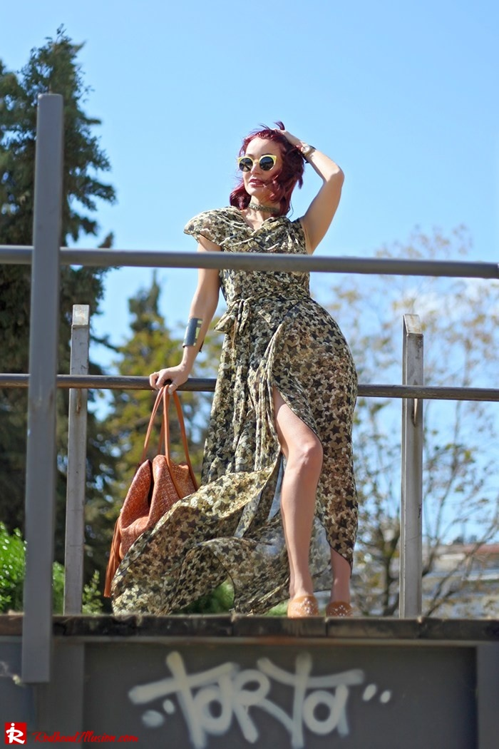 Redhead Illusion - Fashion Blog by Menia - One for all - Denny Rose Dress-04