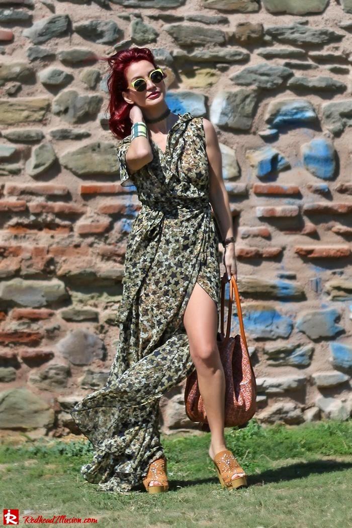Redhead Illusion - Fashion Blog by Menia - One for all - Denny Rose Dress-07