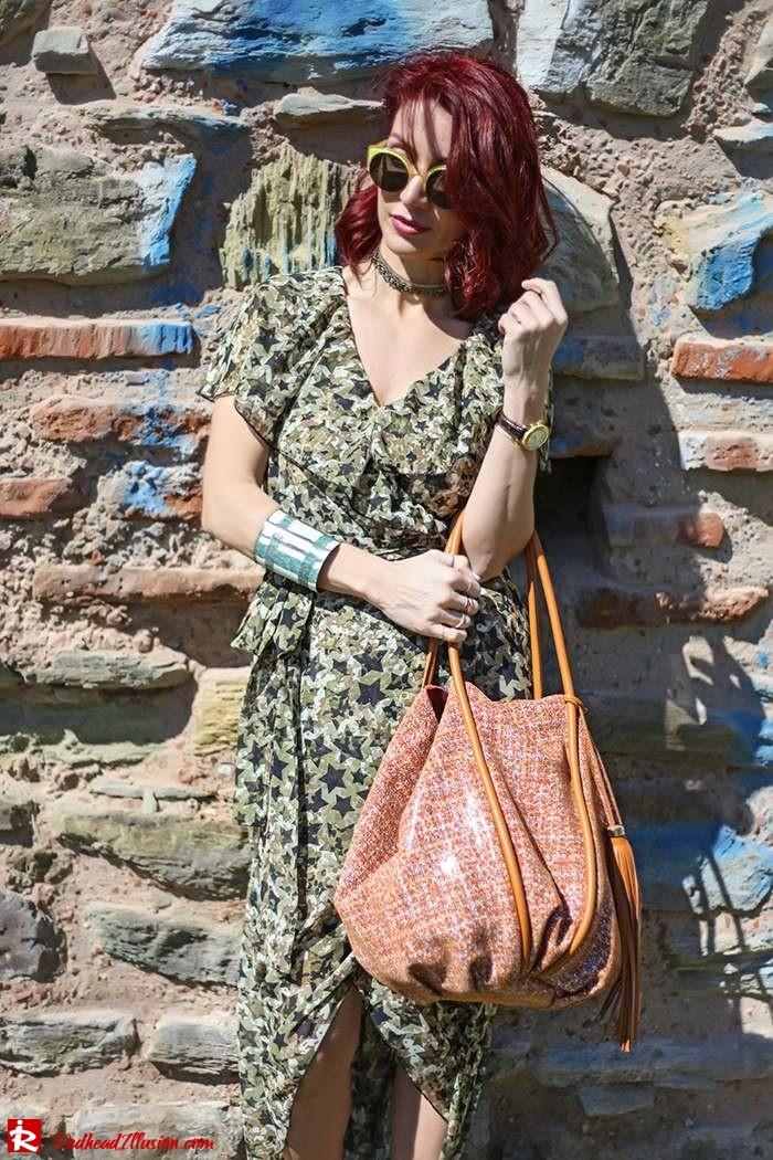 Redhead Illusion - Fashion Blog by Menia - One for all - Denny Rose Dress-09
