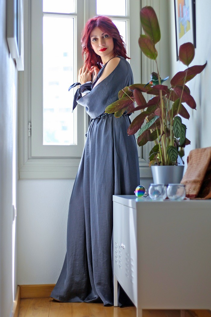 Redhead Illusion - Fashion Blog by Menia - Lately - Jul-03-a sense-of-relaxation-lulus-maxi-dress