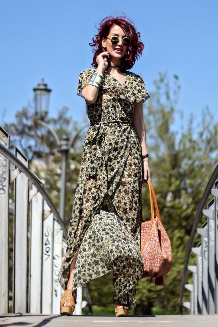 Redhead Illusion - Fashion Blog by Menia - Lately - Jul-05-one-for-all-denny-rose-dress