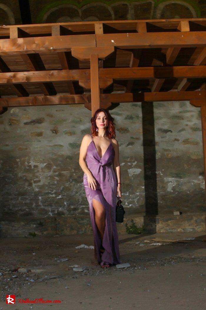 Redhead Illusion - Fashion Blog by Menia - Purple Power - Missguided Jumpsuit-05