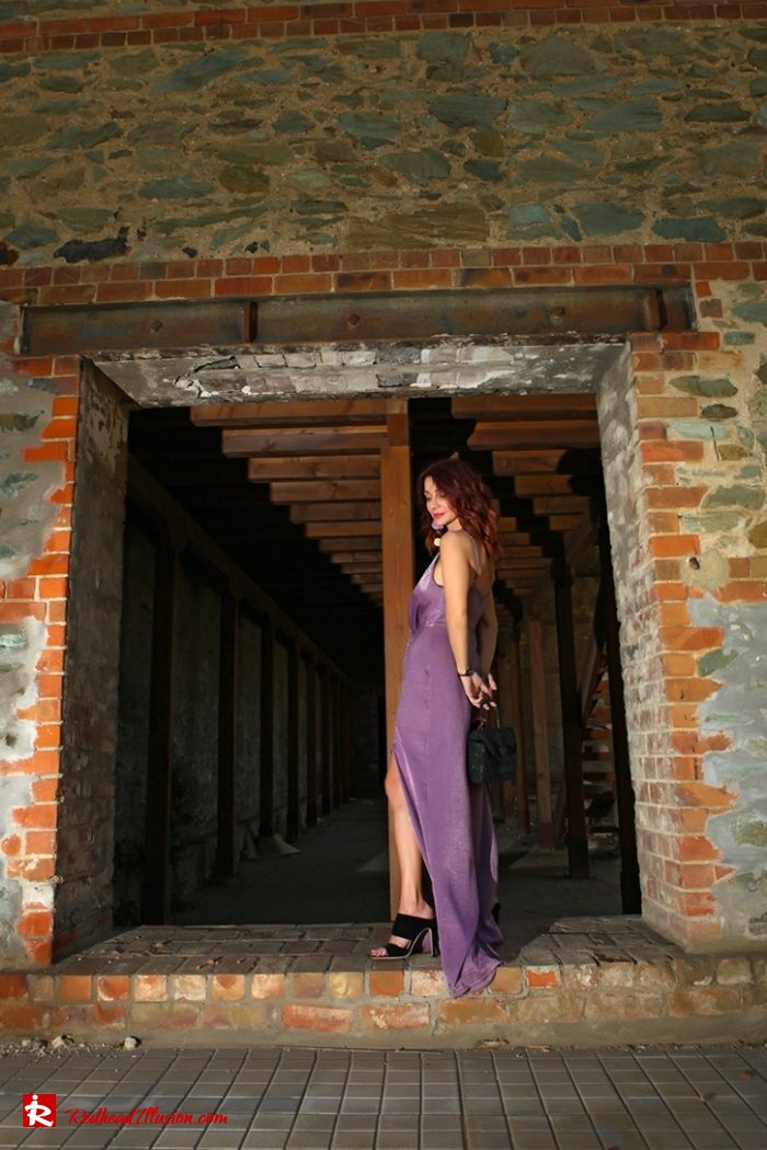 Redhead Illusion - Fashion Blog by Menia - Purple Power - Missguided Jumpsuit-06
