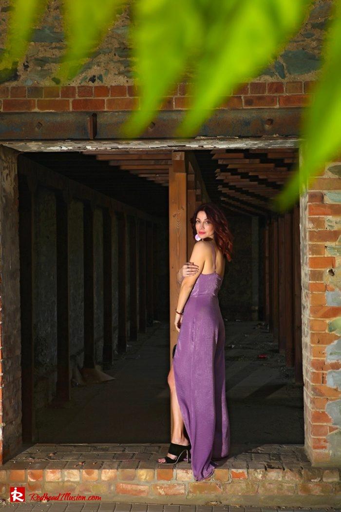 Redhead Illusion - Fashion Blog by Menia - Purple Power - Missguided Jumpsuit-07