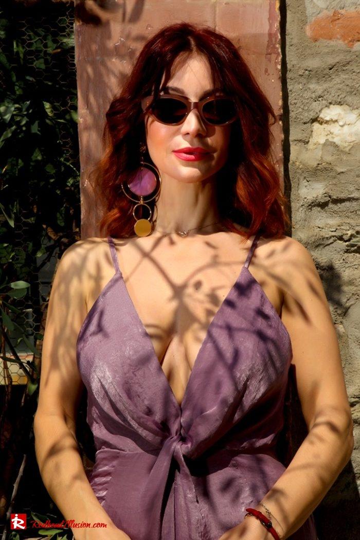 Redhead Illusion - Fashion Blog by Menia - Purple Power - Missguided Jumpsuit-08