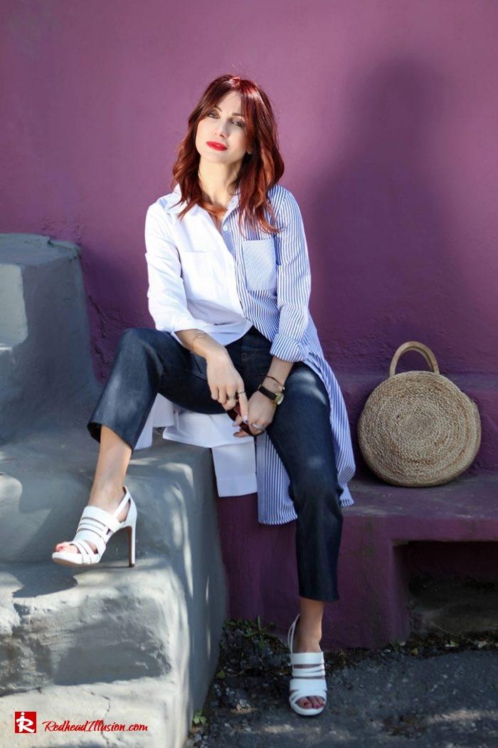 Redhead Illusion - Fashion Blog by Menia - Editorial - Get shirty in 3 ways...!-03
