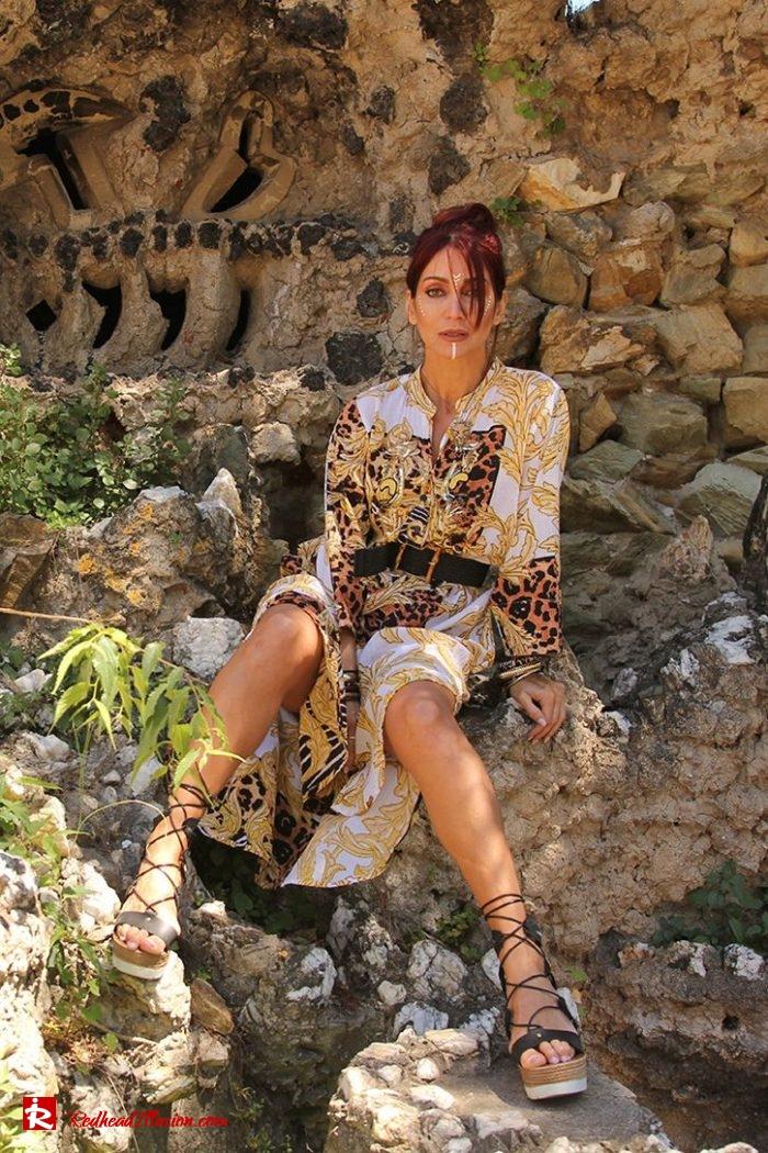 Redhead Illusion - Fashion Blog by Menia - Kaftan for the city - Antica Sartoria-02