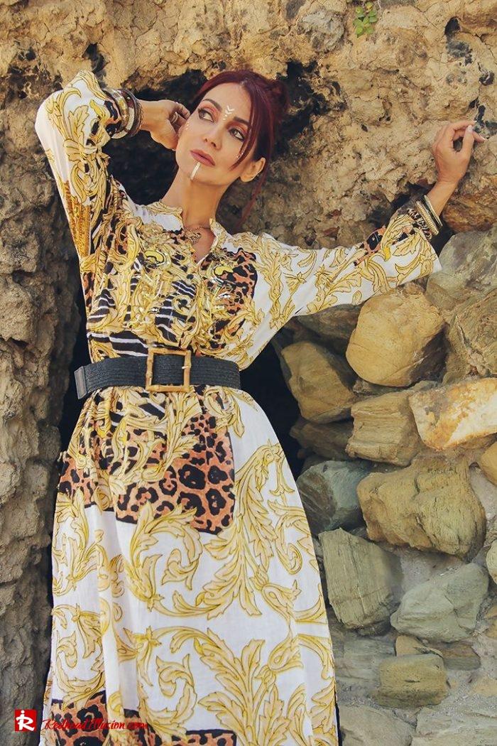 Redhead Illusion - Fashion Blog by Menia - Kaftan for the city - Antica Sartoria-03