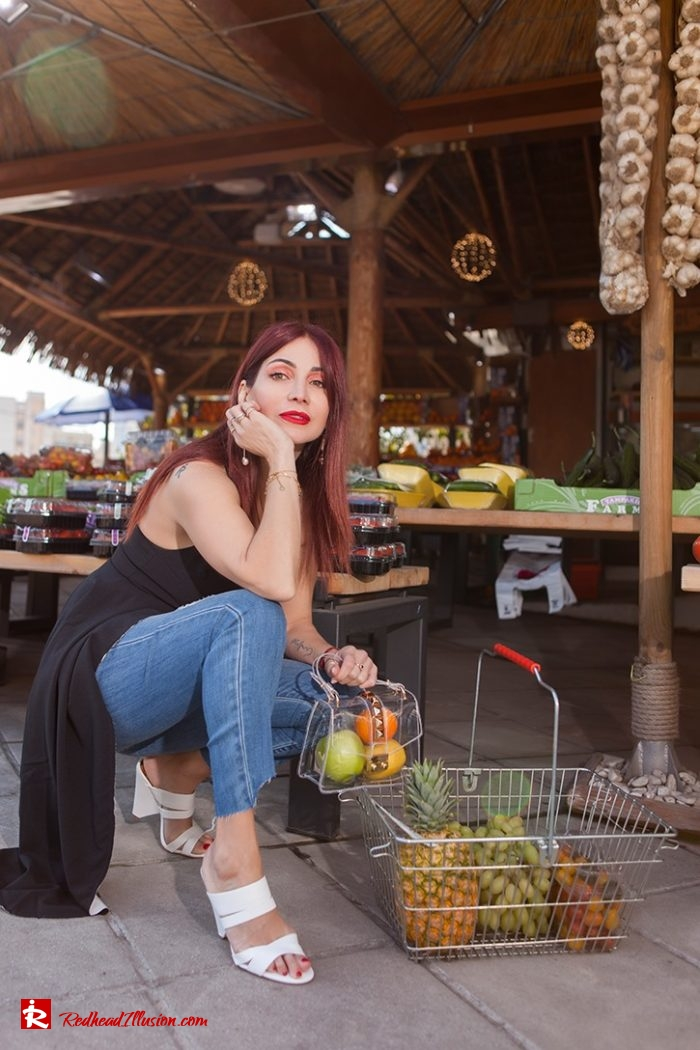 Redhead Iillusion - Fashion Blog by Menia - Missguided Asymmetric Top With Zara Jeans-05