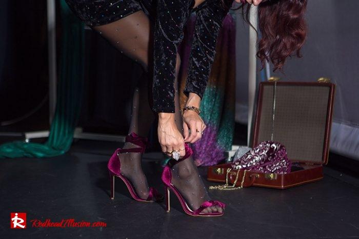 Redhead Illusion - Fashion Blog by Menia - Mini Party Dress-03